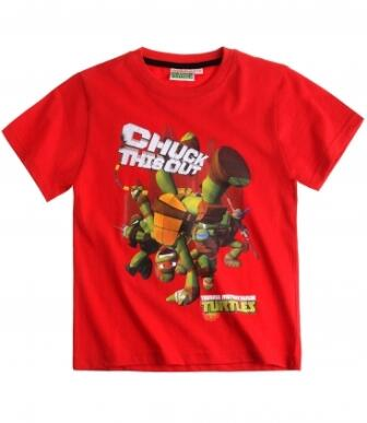 Teenage Mutant Ninja Turtles - Kortærmet T-shirt rød