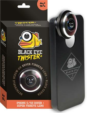 Black Eye Lens Twister iPhone 5/5S Linse