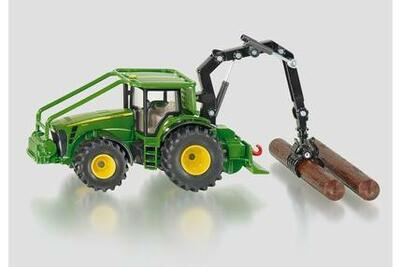 Siku - JD Forestry Tractor w/c
