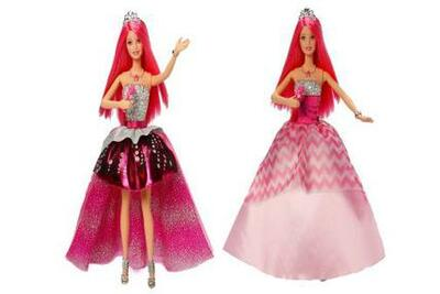Barbie - Prinsesse dukke Courtney