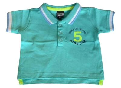 Kortærmet Polo shirt mint - KIDS-UP Baby