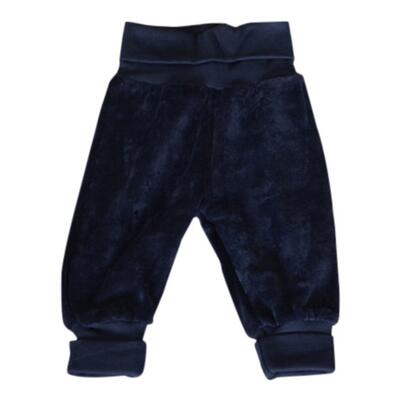 Bukser velour navy - KIDS-UP Baby