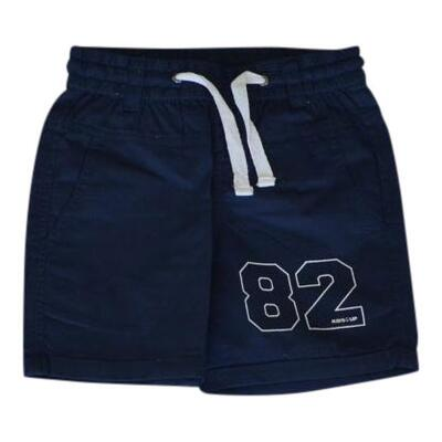 Shorts navy med skrålommer - KIDS-UP
