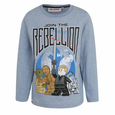 LEGO Star Wars t-shirt i lysblå