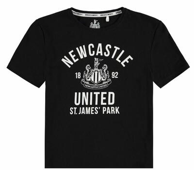 NUFC United T-shirt Sort