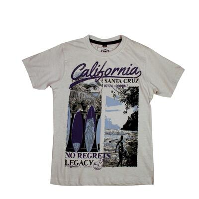 CB Boys Printed T-shirt California