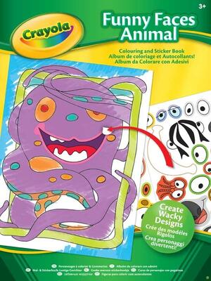 Crayola Funny Faces Book