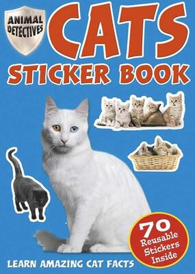 Stickerbog Animal Detective Katte