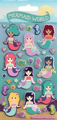 3D Stickers Kidscraft Mermaid World
