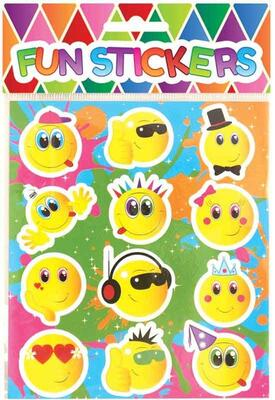 Smiley Fun Stickers