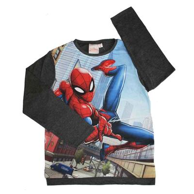 Spiderman T-shirt Flying Grå