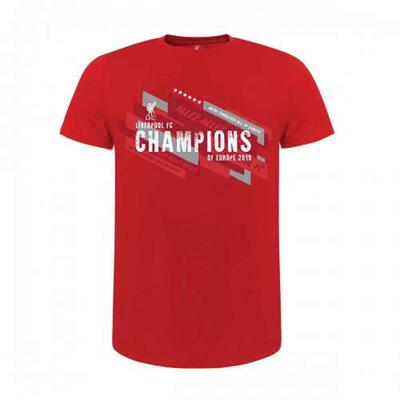 Liverpool FC T-shirt Champions Of Europe