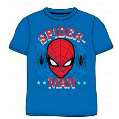 Spiderman Kortærmet T-Shirt Blå