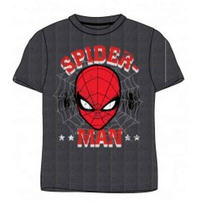 Spiderman T-shirt SS Grå