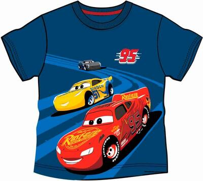 Disney Cars T-shirt Kort Navy