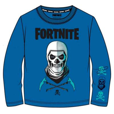Fortnite T-shirt Langærmet Blå