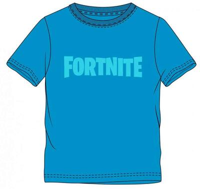 Fortnite T-shirt Kortærmet Blå