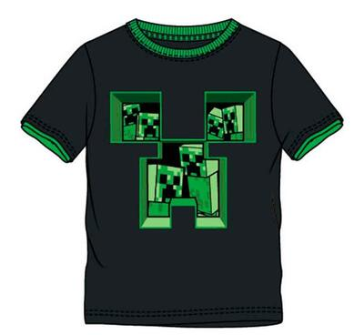 Minecraft Creeper T-shirt Sort