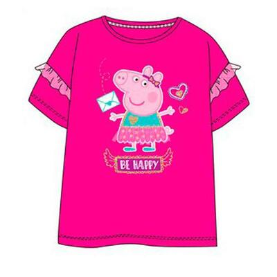 Gurli Gris T-shirt Pink Be Happy