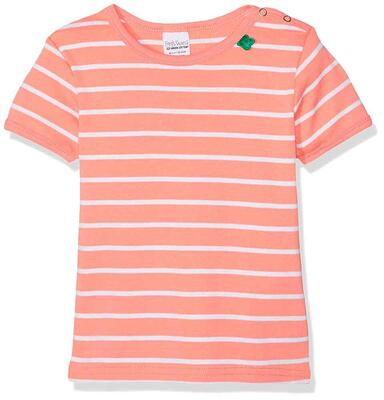 Freds World Stribet T-shirt Coral