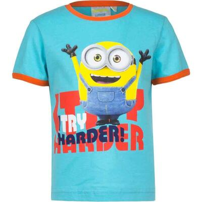 Minions T-Shirt Turkis Try Harder