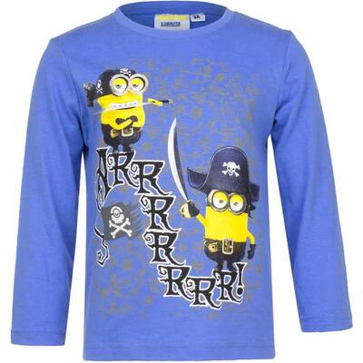 Minions LS T-shirt Pirates Blå
