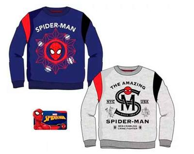 Spiderman Sweatshirt Navy eller Grå
