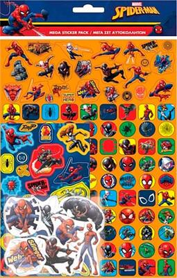 Spiderman Stickers Mega Sæt