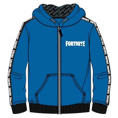 Fortnite Sweatshirt med Hætte Blå