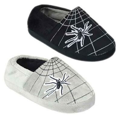 Spider Slipper Sutsko Grå eller Sort
