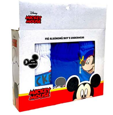 Mickey Mouse Briefs 3-Pak
