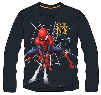 Spiderman LS T-shirt Navy New York