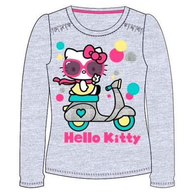 Hello Kitty LS T-shirt Grå