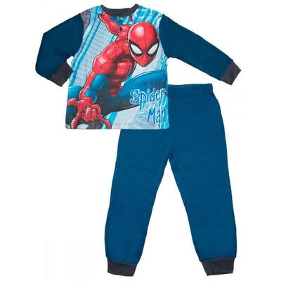 Spiderman Nattøj Navy Blå
