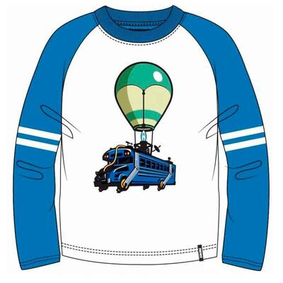 Fortnite LS T-shirt Battle Bus