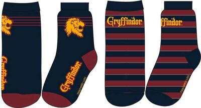 Harry Potter Sokker Gryffindor 2-PK