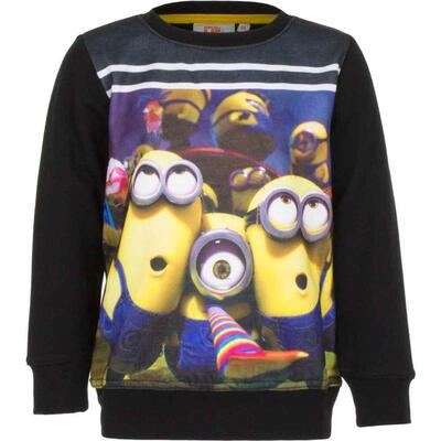 Minions Sweatshirt Sort