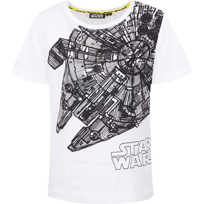 Star Wars T-Shirt The Galaxy Hvid