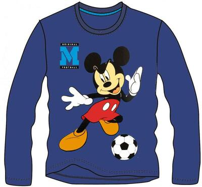 Mickey Mouse T-Shirt Soccer Navy