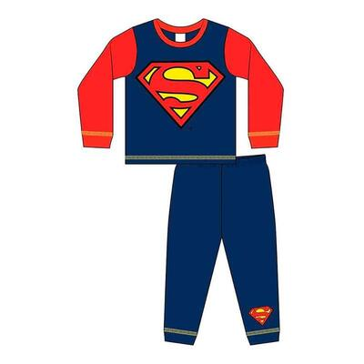 Superman Pyjamas til Drenge i Navy