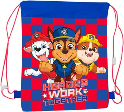 Paw Patrol Gym Bag Heroes Blå