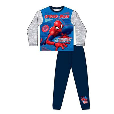 Spiderman Pyjamas Grå Blå Like A Job