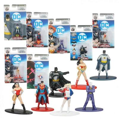 DC Nano Metalfigs Superhelte