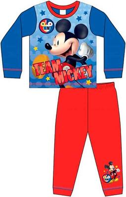 Mickey Mouse Pyjamas Team Mickey