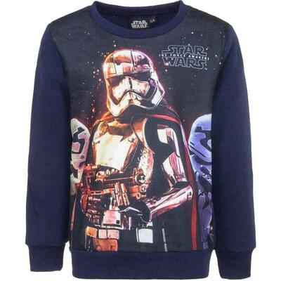 Star Wars Sweatshirt Navy The Force Awakens