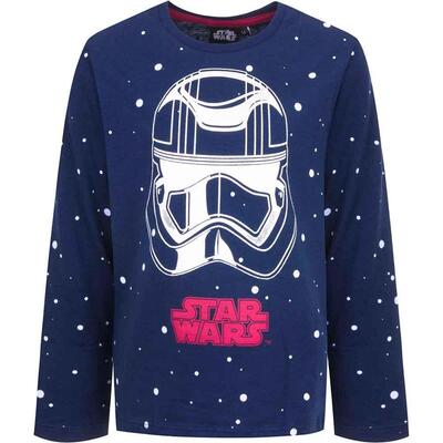 Star Wars Langærmet T-Shirt Navy
