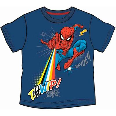 Spiderman Kort T-Shirt Thwip Navy