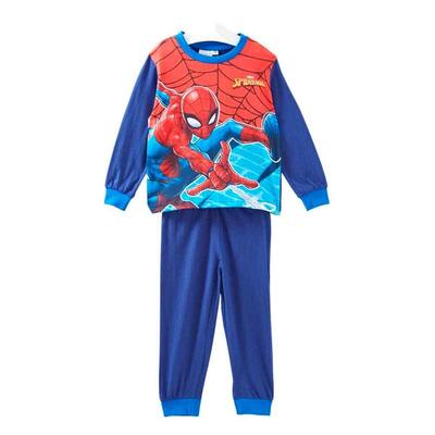 Spiderman Pyjamas Flying Blå