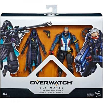 Overwatch Ultimates Action Figur 2-Pak