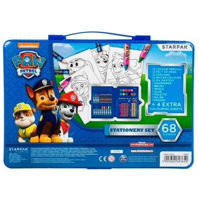 Paw Patrol Stationery Set 68 dele